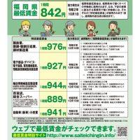 最低賃金改定のサムネイル